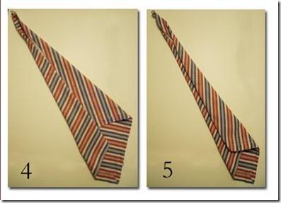 dobradura de guardanapo - gravata.2jpg