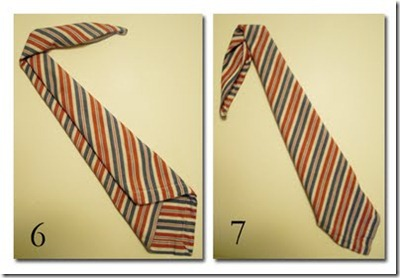 dobradura de guardanapo - gravata.3jpg